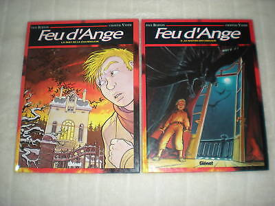 Feu D'ange - Lot Des 2 Tomes En Editions Originales - Collection Grafica Glenat