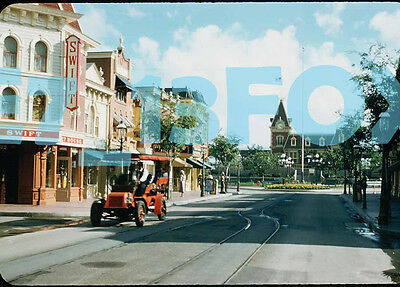 1958 Disneyland Swift Store Train Station Photo 5x7