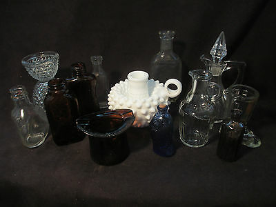 Vintage Bottles Lot of  13 Bottles