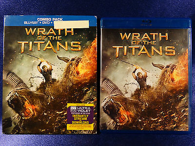 Wrath of the Titans (Blu-ray/DVD, 2012, 2-Disc Set) (1c)