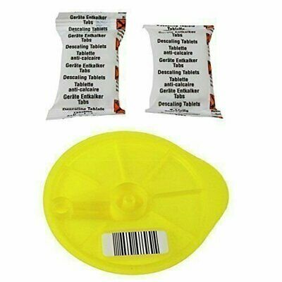 Tassimo Service Cleaning Disc, 2 Descaling Tablets