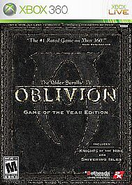The Elder Scrolls IV: Oblivion (Game of the Year Edition)  (Xbox 360, 2011)