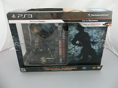Mortal Kombat Kollector's Edition  (Sony Playstation 3, 2011)