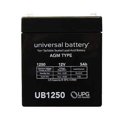 UPG 12V 5AH SLA Battery Replacement for ION Audio Job Rocker Sound System