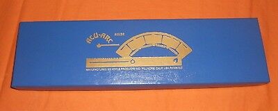 Acu-Arc Ruler In Inches By Hoyle Products Inc In Box With Paperwork Instruction