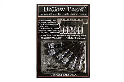 Hollow Point Intonation System for Floyd Rose Tremolo - Chrome