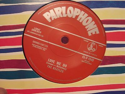 THE BEATLES LOVE ME DO & P.S. I LOVE YOU PARLOPHONE RE-ISSUE MONO 45 MINT