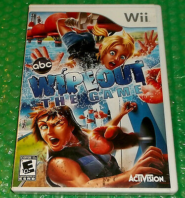 Wipeout: The Game [party] (Nintendo Wii, 2010, E 10+) *NTSC U/C...no manual
