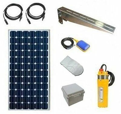 Solar Powered Deep Well Pump - Solar Water Pumping Kit - 120W Solar System