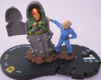 heroclix DC brave and the bold 054 MISTER MIRACLE AND OBERON Super Rare w/ card