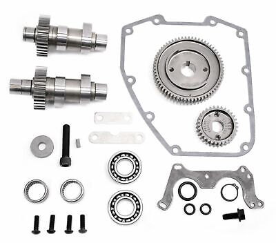 S/&S Cycle 510C Grind Chain Drive Bolt In Cam Kit .510 Lift Harley Twin Cam 07-16