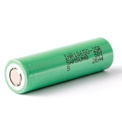 1 Samsung 18650 INR 25R 2500mAh HIGH CURRENT Rechargeable Lithium Battery Li-ion