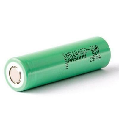 2 Samsung 18650 INR 25R 2500mAh HIGH CURRENT Rechargeable Lithium Battery Li-ion