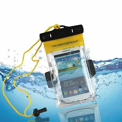 Wholesale 100X Large Swimming Waterproof Underwater Pouch Case Bag Mobile Phone