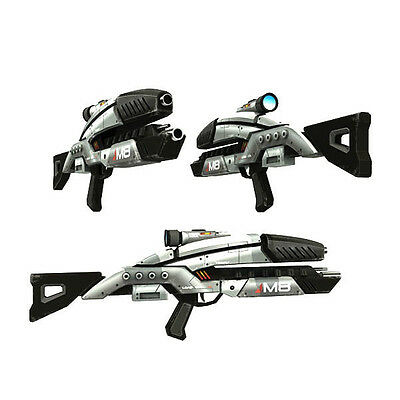 3D Paper  gun Model Building  Toy Papercraft  For Mass Effect M8 Rifle Cosplay