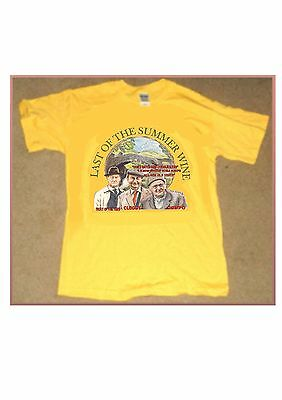 Last Of The Summer Wine Yellow T Shirt