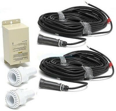 Pentair 620081 2 GloBrite 12V 100' Cord with 300W Transformer 2 Vinyl Niches