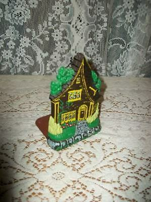 VINTAGE 40s HP CHIC COTTAGE BOOKEND DOOR STOP BURWOOD SHABBY CHIPPY