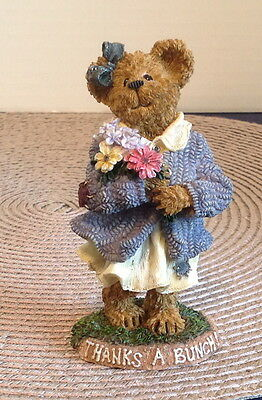 Boyds Bear ~ Merci Abunch...Thanks a Bunch/QVC Exclusive Edition Piece ~ NEW