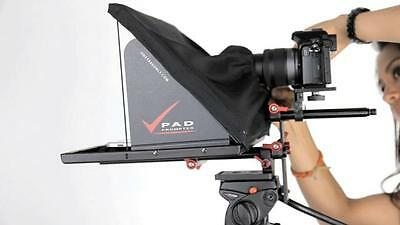 Pad Prompter for 15mm rails - Fantastic Teleprompter for DSLR