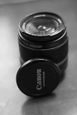 CANON EF-S 18-55mm IS for XT XTi XS XSi T1i T2i T3i T3 20D 30D 40D 50D 60D 7D+#2