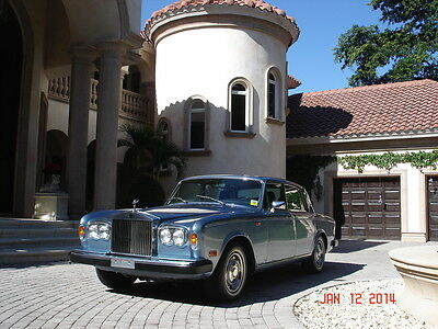 Rolls-Royce : Silver Shadow Silver Shadow II FLORIDA,SHADOW II, ONE OWNER FROM NEW,TWO TONE BLUE,AWESOME CONDITION