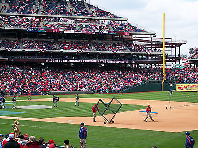 Philadelphia Phillies vs Washington Nationals 6/28 - 2 Great Lower Level Seats !