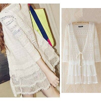 New Perspective Lace Cardigan Sunscreen Air-conditioned Shirt Jacket Cheap