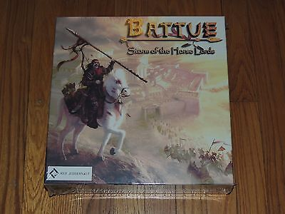 2007 BATTUE STORM OF THE HORSE LORDS BOARD GAME SEALED
