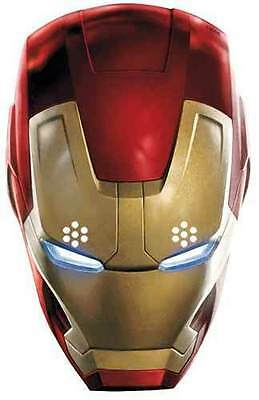 Iron Man Avengers Age of Ultron Marvel Official Card Party Face Mask Tony Stark
