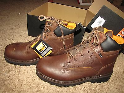 """NEW *TIMBERLAND PRO* 6""""RESISTOR Composite Toe Boots Brown 11 W/L 89661"""