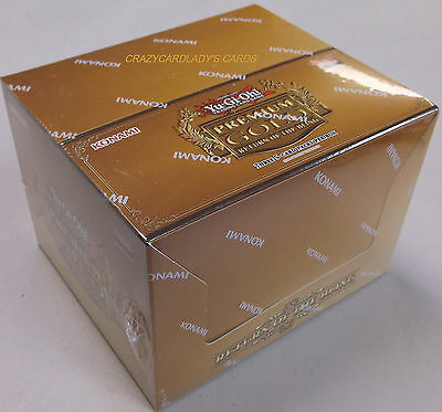 YUGIOH PREMIUM GOLD RETURN OF THE BLING 1ST EDITION BOOSTER BOX FACTORY SEALED