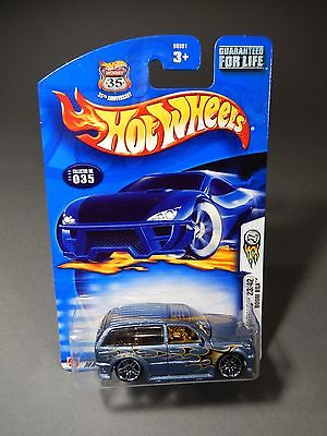 2003 Hot Wheels First Editions BOOM BOX  #23 out of 42 Silver Blue Version