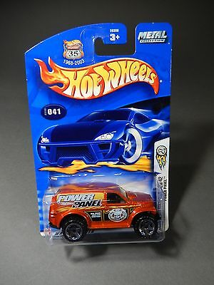 2003 Hot Wheels First Editions POWER PANEL  #29 out of 42