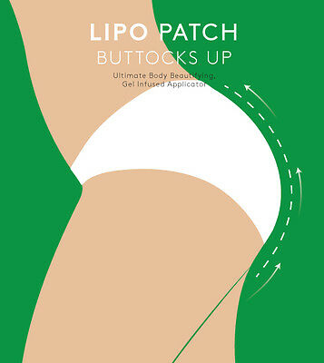 ULTIMATE BODY BUTTOCKS UP WRAPS PATCH, it works to Buttocks tone slim - 4 pairs