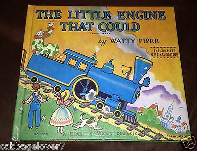 1961 THE LITTLE ENGINE THAT COULD by Watty Piper HARDCOVER