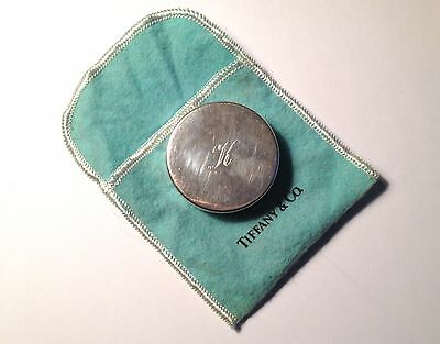 Vintage Tiffany & Co. Sterling Silver Tape Measure in Tiffany Pouch