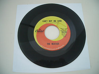 """The Beatles  7"""" VINYL +CANT BUY ME LOVE/YOU CANT DO THAT +CAPITOL +SWIRL+"""