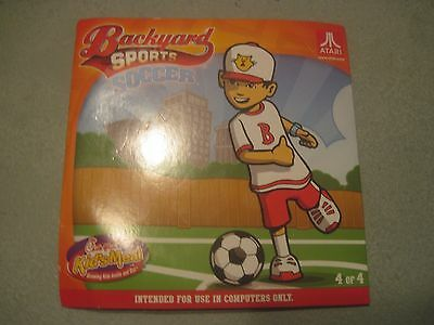2012 Chick-fil-A Kids Meal Toy - Atari Backyard Sports CD Soccer 4 of 4