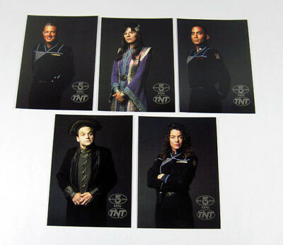 1997 Turner Broadcasting Babylon 5 TNT 5 x 7 Postcard Promo Set (5) Nm/Mt