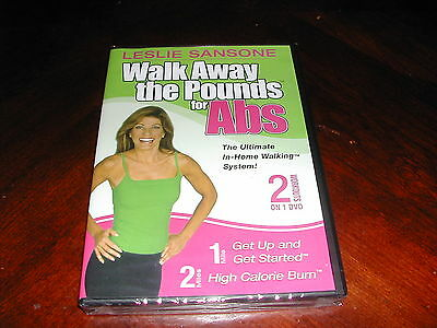 Walk Away The Pounds For Abs Leslie Sansone New Exercise Dvd