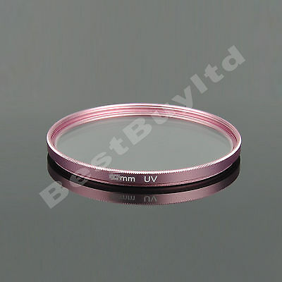 67mm UV Filter for Nikon D90 Canon EOS 7D 60D 50D 18-135 Tamron A16 17-50mm Pink