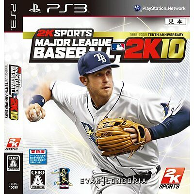 USED PS3 MLB 2k10 JAPAN