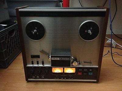 TEAC A-3300SX 4 TRACK MASTER REEL TO REEL DECK / EXCELLENT CONDITION