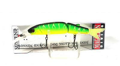 Jackall Diving Magallon Jointed Suspend Minnow Lure Mat Tiger (5224)