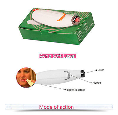 Light LLLT Therapy Acne Pen Soft Scar Wrinkle Blemish Removal Skin Treatment