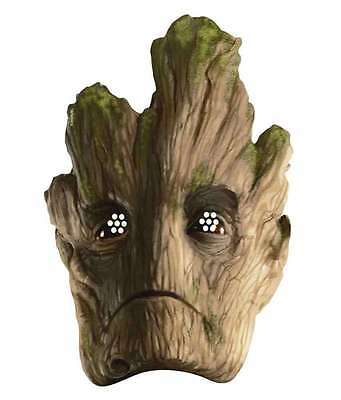 Groot Guardians Of The Galaxy Marvel Official Card Party Face Mask Tree GOTG