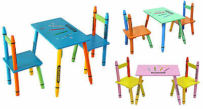 Bebe Style Childrens Wooden Table and Chair set - Kids Toddlers Childs - NEW