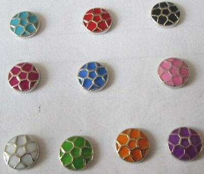 Free shipping! mixed 10PCS floating charm for glass living memory locket  #536