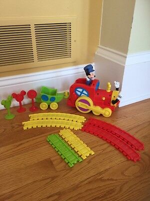 Disney MICKEY MOUSE CLUBHOUSE Mickey's Magic Choo Choo Express Train incomplete